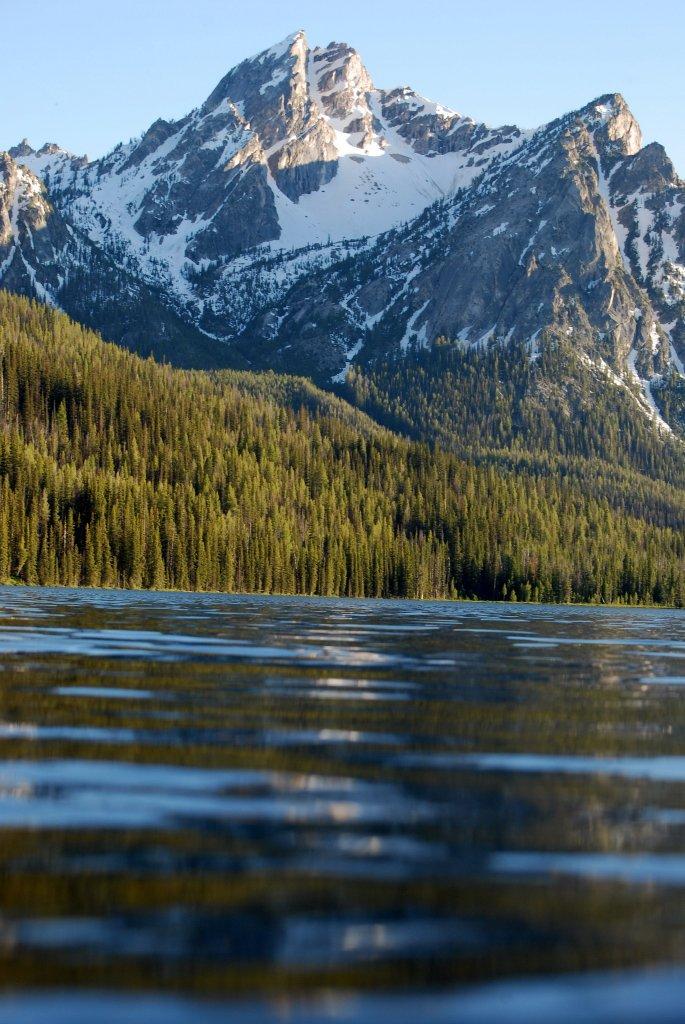 misogi in an icy lake